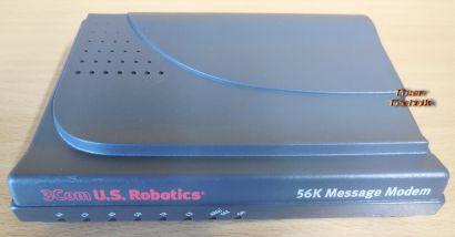 U.S.Robotics 56K Analog Faxmodem SP Message Plus seriell 1x RJ-11 DB25* nw534