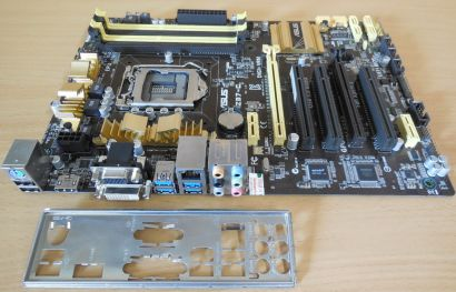 Asus Z87-C Rev 1.02 Mainboard in OVP Intel Z87 Sockel 1150 PCIe DDR3 USB3.0*m828