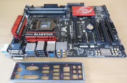 Gigabyte GA-Z97X-Gaming 5 Rev1.0 Mainboard+Blende Intel Z97 Sockel 1150 m.2*m829