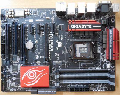 Gigabyte GA-Z97X-Gaming 5 Rev1.0 Mainboard+Blende Intel Z97 Sockel 1150 m.2*m829