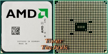CPU AMD A6-3650 AD3650WNZ43GX Quad Core 4x2.6GHz Sockel FM1 AMD Grafik* c547