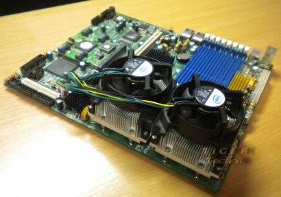 Tyan S5350 M8110 + CPU-K 2x Intel Xeon SL8P7 2,8Ghz,2MB,800* m01