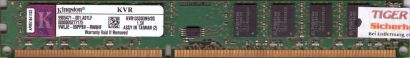Kingston KVR1333D3N9 2G PC3-10600 2GB DDR3 1333MHz 9905471-001 A01LF RAM* r394