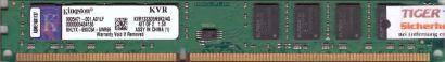 Kingston KVR1333D3N9K2 4G PC3-10600 2GB DDR3 1333MHz 9905471-001 A01LF RAM* r395