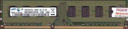 Samsung M378B5673FH0-CH9 PC3-10600 2GB DDR3 1333MHz Arbeitsspeicher RAM* r399