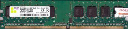 Aeneon AET660UD00-30D PC2-5300U CL5 512MB DDR2 667MHz Arbeitsspeicher RAM* r400