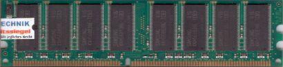 Samsung M368L6423ETN-CB3 PC-2700 CL2.5 512MB DDR 333MHz Arbeitsspeicher RAM*r401
