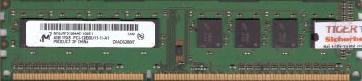 Micron MT8JTF51264AZ-1G6E1 PC3-12800 4GB DDR3 1600MHz RAM HP 698650-154* r406