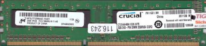 Micron MT8JTF25664AZ-1G4D1 PC3-10600 2GB DDR3 1333MHz crucial CT25664BA1339*r407