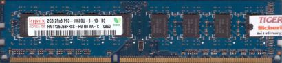 Hynix HMT125U6BFR8C-H9 N0 PC3-10600 2GB DDR3 1333MHz Arbeitsspeicher RAM* r409