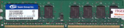 Team Group TED22G800C5BK PC2-6400 2GB DDR2 800MHz Arbeitsspeicher RAM* r412