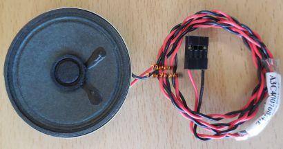 System Gehäuse Lautsprecher PC Computer 8 Ohm 0,5Watt* pz316
