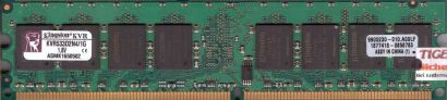 Kingston KVR533D2N4 1G PC2-4200 1GB DDR2 533MHz 9905230-010 A00LF RAM* r424