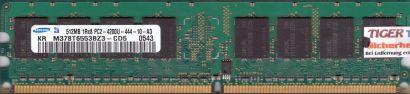 Samsung M378T6553BZ3-CD5 PC2-4200 CL4 512MB DDR2 533MHz Arbeitsspeicher RAM*r441