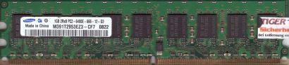 Samsung M391T2953EZ3-CF7 PC2-6400 ECC 1GB DDR2 800MHz Arbeitsspeicher RAM* r444