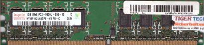 Hynix HYMP112U64CP8-Y5 AB-C PC2-5300 1GB DDR2 667MHz Arbeitsspeicher RAM* r445