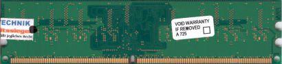 Hynix HYMP564U64CP8-Y5 AB-C PC2-5300 512MB DDR2 667MHz Arbeitsspeicher RAM* r446
