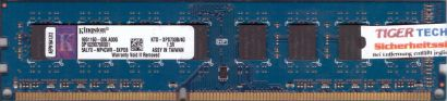 Kingston KTD-XPS730B 4G PC3-10600 4GB DDR3 1333MHz 9931160-006 A00G RAM* r448