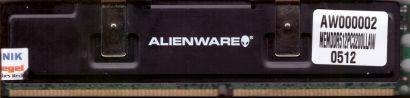 Alienware MEMDDR512PC3200LLAW PC-3200 512MB DDR1 400MHz Arbeitsspeicher RAM*r463