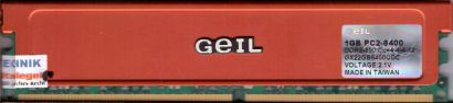 GEIL GX22GB6400UDC PC2-6400 1GB DDR2 800MHz Arbeitsspeicher RAM* r464