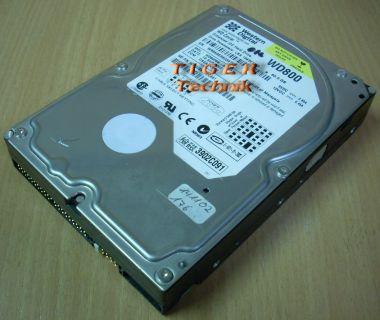 """Western Digital WD800 Caviar 800BB-32CAA0 Festplatte HDD IDE 80GB 3,5"""" f254"""