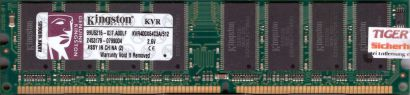 Kingston KVR400X64C3A 512 PC-3200 512MB DDR1 400MHz 99U5216-037 A00LF RAM* r471