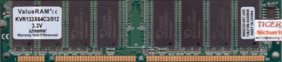 Kingston KVR133X64C3 512 PC133 512MB SDRAM 133MHz 9905220-007 A00 SD RAM* r472
