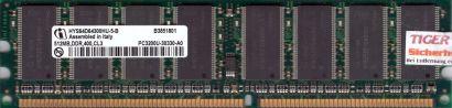 Infineon HYS64D64300HU-5-B PC-3200 512MB DDR1 400MHz Arbeitsspeicher RAM* r479