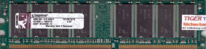 Kingston KFJ2813 1G PC-2700 1GB DDR1 333MHz 9905193-014 A02LF RAM* r485