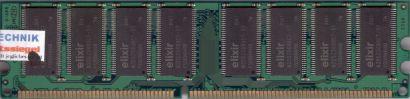 Elixir M2U51264DS8HC3G-5T PC-3200 512MB DDR1 400MHz Arbeitsspeicher RAM* r489