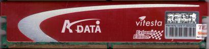 ADATA Vitesta Extreme ADQVD1A16 M20AD9G3I4170INE58 PC2-6400 1GB DDR2 800MHz*r491