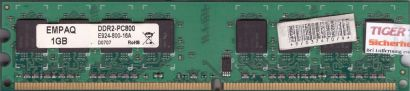 EMPAQ E924-800-16A PC2-6400 1GB DDR2 800MHz Arbeitsspeicher RAM* r499