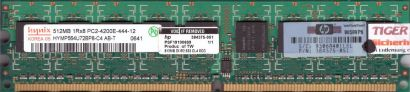 Hynix HYMP564U72BP8-C4 AB-T PC2-4200 ECC 512MB DDR2 533MHz HP 384375-051* r511