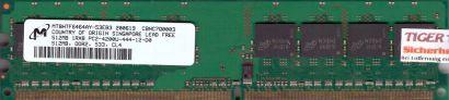Micron MT8HTF6464AY-53EB3 PC2-4200 512MB DDR2 533MHz Arbeitsspeicher RAM* r516