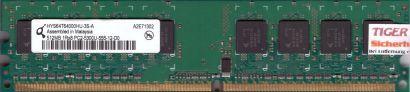 Qimonda HYS64T64000HU-3S-A PC2-5300 512MB DDR2 667MHz Arbeitsspeicher RAM* r517