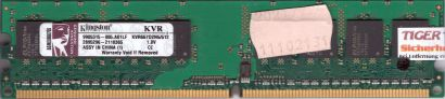 Kingston KVR667D2N5 512 PC2-5300 512MB DDR2 667MHz 9905315-005 A01LF RAM* r523