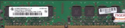 Infineon HYS64T64020HU-3.7-A PC2-4200 512MB DDR2 533MHz Arbeitsspeicher RAM*r525