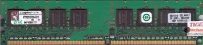Kingston KVR533D2N4 512 PC2-4200 512MB DDR2 533MHz 99U5315-002 A00LF RAM* r526