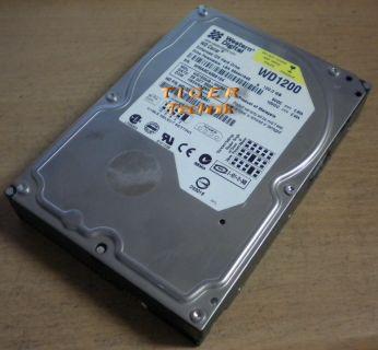 """Western Digital WD1200 Caviar 1200JB-00CRA1 Festplatte HDD IDE 120GB 3,5"""" f260"""