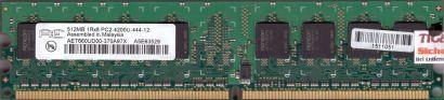 Aeneon AET660UD00-370A97X PC2-4200 512MB DDR2 533MHz Arbeitsspeicher RAM* r528