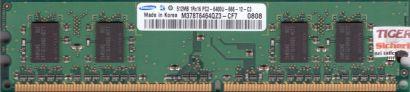 Samsung M378T6464QZ3-CF7 PC2-6400 512MB DDR2 800MHz Arbeitsspeicher RAM* r532