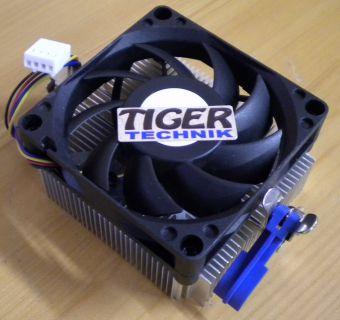 AMD 1A02C3W00 Sockel AM2 AM2+ AM3 939 940 FM1 70mm 4-pol CPU Lüfter* ck304