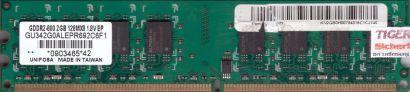 Unifosa GU342G0ALEPR692C6F1 PC2-6400 2GB DDR2 800MHz Arbeitsspeicher RAM* r538