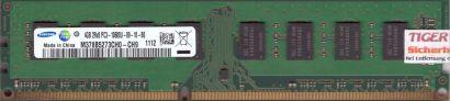 Samsung M378B5273CH0-CH9 PC3-10600 4GB DDR3 1333MHz Arbeitsspeicher RAM* r543