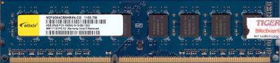 Elixir M2F4G64CB8HB5N-CG PC3-10600 4GB DDR3 1333MHz Arbeitsspeicher RAM* r545