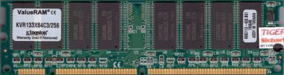 Kingston KVR133X64C3 256 PC133 256MB SDRAM 133MHz 9902112-438 B01 SD RAM* r551