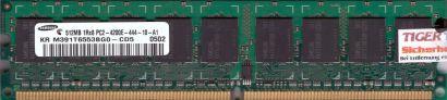 Samsung M391T6553BG0-CD5 PC2-4200 512MB DDR2 533MHz ECC Arbeitsspeicher RAM*r554