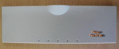 Chieftec USB Audio Firewire Klappe Abdeckung Gehäuseblende Weiß* pz443