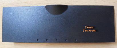 Chieftec USB Audio Firewire Klappe Abdeckung Gehäuseblende Schwarz* pz444
