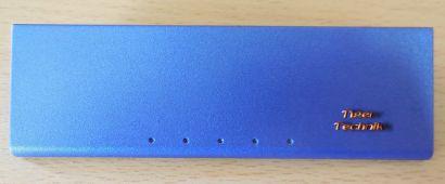 Chieftec USB Audio Firewire Klappe Abdeckung Gehäuseblende Blau* pz445